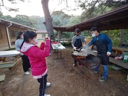 승곡체험마을에서 진행한 서울농장 '가을빛 쿠킹클래스'